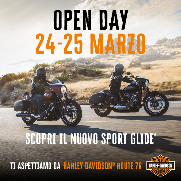 24-25 Marzo Open Day